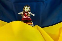 De Oekraïense met de hand gemaakte pop van het textill volksvod Royalty-vrije Stock Afbeeldingen