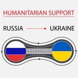 De Oekraïne en Rusland Royalty-vrije Stock Foto's