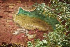 De OEKRAÏNE, LVIV - 12 Oktober, 2013: Lviv en omringende gebieden gr. Royalty-vrije Stock Afbeelding