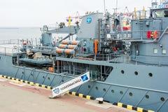 De Oekraïne, Odesa - Maart, 18, 2017: In de haven militaire schepen van Odessa royalty-vrije stock afbeelding