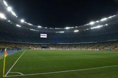 De Oekraïne versus Spanje UEFA-de beslissingsmatch van EURO 2016 Royalty-vrije Stock Foto