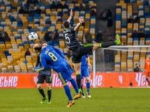 De Oekraïne versus Wales Royalty-vrije Stock Foto's