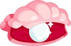 de oestersvector van de illustratieparel Stock Fotografie