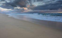 De oever van het zeegezicht Stock Foto's