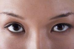 De ogen Royalty-vrije Stock Afbeeldingen
