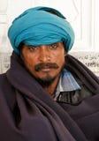 De ogen van Blurried van een vermoeide arbeider Royalty-vrije Stock Afbeeldingen