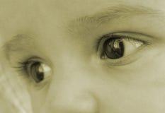 De ogen van de baby Royalty-vrije Stock Foto