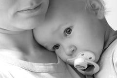 De ogen van de baby Stock Afbeelding