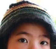 De ogen van het kind stock foto's