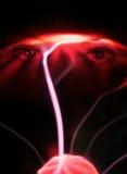 De ogen van het plasma stock afbeeldingen
