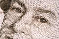 De ogen van koninginnen Stock Foto