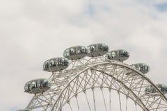 De ogencapsule van Londen ` s Stock Afbeeldingen
