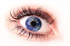 De ojo mágico Foto de archivo