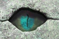 De ojo mágico Fotografía de archivo
