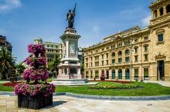 De Okendo Plac w San Sebastian, Hiszpania Zdjęcia Royalty Free