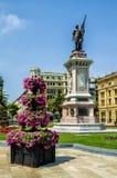 De Okendo Plaza, San Sebastian, Spain. Stock Photography