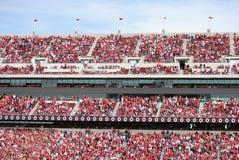 De Oklahoma futebol mais logo Imagem de Stock Royalty Free