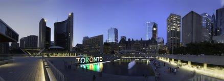 De Old&New-Stadhuizen (Toronto) stock afbeelding