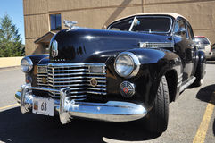 De Oldtimer van Cadillac in Lake Placid, NY Stock Foto