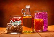 De oliën van Aromatherapy stock afbeelding