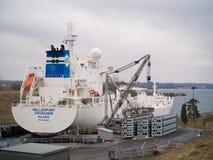 De Olie Chemische Tanker van de Hellespontkruisvaarder Royalty-vrije Stock Foto's