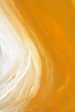 De olie-geschilderde textuur van borstelslagen Stock Afbeeldingen