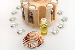 De olie van de jasmijn Stock Foto's