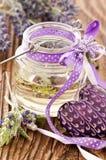 De olie van de lavendel royalty-vrije stock foto