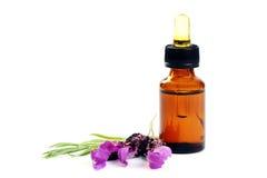 De olie van de lavendel Royalty-vrije Stock Foto's