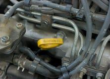 De olie van de motor Stock Afbeelding