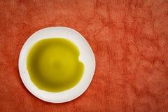 De olie van het hennepzaad stock afbeelding