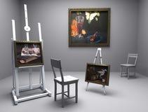 De olie van het stilleven - beeld 10 Royalty-vrije Stock Afbeeldingen