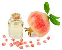 De Olie van het Zaad van de granaatappel Stock Fotografie