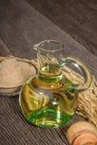 De olie van rijstzemelen Royalty-vrije Stock Afbeeldingen