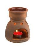 De oliebrander van Aromatherapy Stock Afbeelding