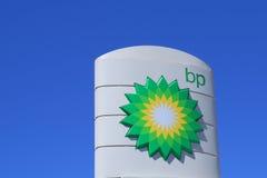 De oliemaatschappij van BP Royalty-vrije Stock Foto