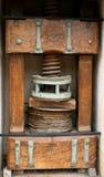 De oliepers van Antic stock afbeeldingen
