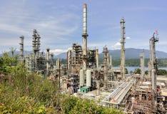 De olieraffinaderij van Vancouver stock afbeelding