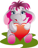 De olifant van de baby Stock Foto