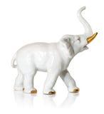 De olifant van het porselein Stock Afbeeldingen