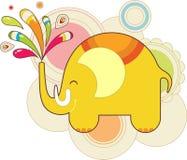 De olifant van het stuk speelgoed Royalty-vrije Stock Foto's