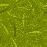 De olijf leeft patroon Stock Afbeeldingen