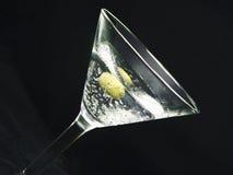 De olijf van martini n #2 Stock Fotografie