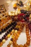 De olika smyckena Royaltyfri Fotografi