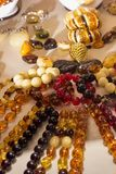 De olika smyckena Royaltyfria Bilder