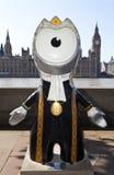 De Olympische Mascotte van Londen 2012 Stock Foto's