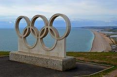 De Olympische Ringen van Dorset Royalty-vrije Stock Fotografie