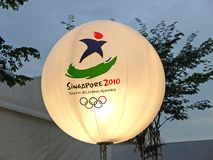 De Olympische Spelen 2010 van de jeugd Stock Fotografie
