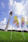 De Olympische Toren van München Royalty-vrije Stock Foto's