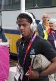 De Olympische Voetbal Giovani Dos Santos van Mexico Royalty-vrije Stock Foto